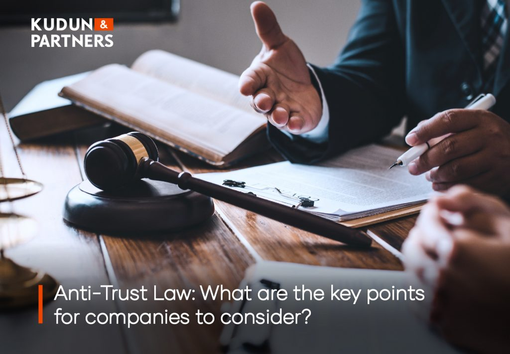 Antitrust law: What are the key points companies should consider?